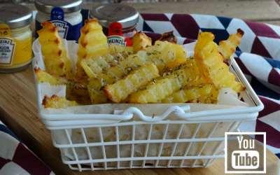 Fırında Patates Kızartması (Videolu)