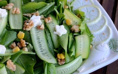 Kuzu Kulağı Salatası