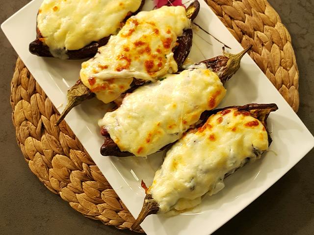 Meksika Fasulyeli Patlıcan