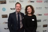 BYPY Chair Mike Colledge and BYPY 2016 Abby Corfan