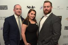 Chris Rowlands, Lauren Howard and James Weaver (Executive Network Group)