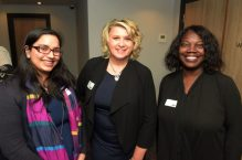 Sam Amin (CIPD), Eileen Schofield (Birmingham Law Society) and Maxine Salmon (CIPD)