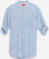 Mandarin collar sleeve, £19.99, Zara