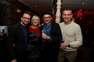 Benjamin Fishlock, Eve Fraser, John Keane and Andrew Riley from RileyRaven
