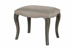 Sienna Grey stool, £299, Feather & Black