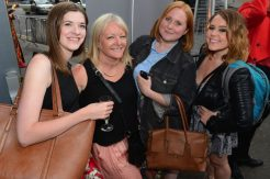 L-R- Helen Williams, Caroline Chell, Sophie Moss and Jodie Williams