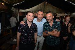 L-R Michael Raven, Andrew Riley and John Keane