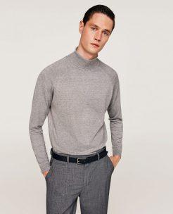 Polo Neck Sweater, £19.99, Zara