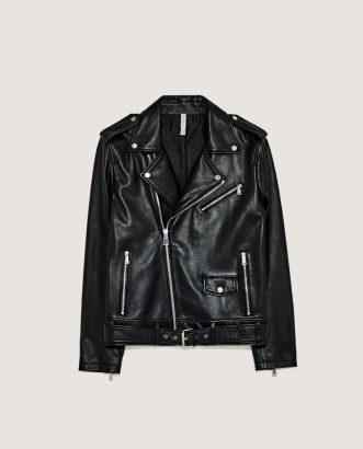Leather Jacket, £179, Zara