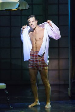 Danny Mac as 'Joe Gillis'. Credit: Manuel Harlan