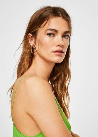 Hoop Earrings, £9.99, Mango