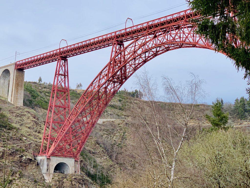 Garabit viaduct from the side
