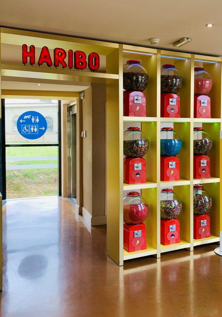 Haribo Museum Jars of Sweets