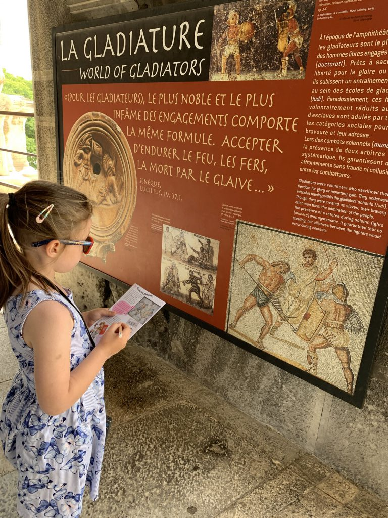 Learning the different types of gladiators