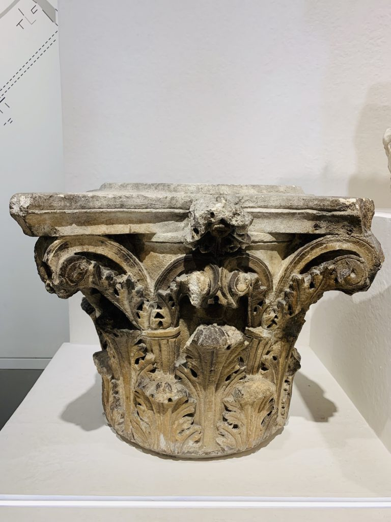 Column caps from Maison Carrée