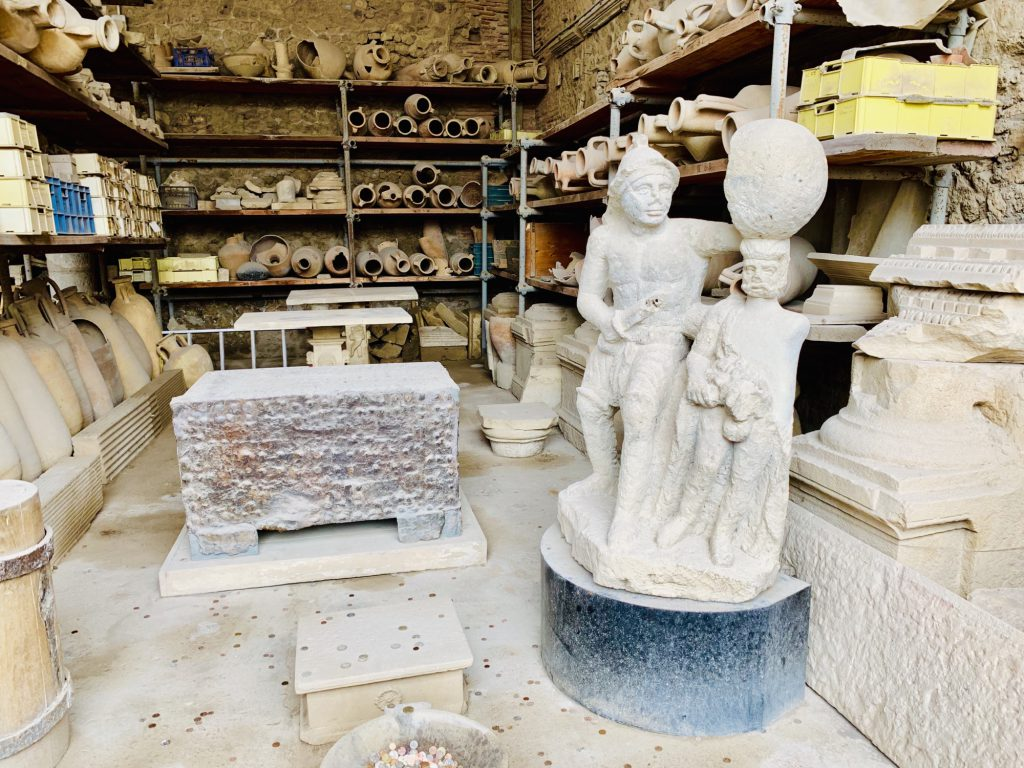 items found at pompeii
