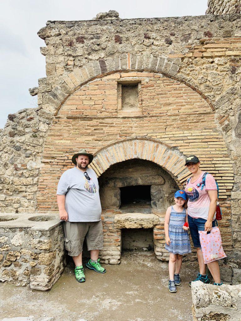 Bakery at Pompeii