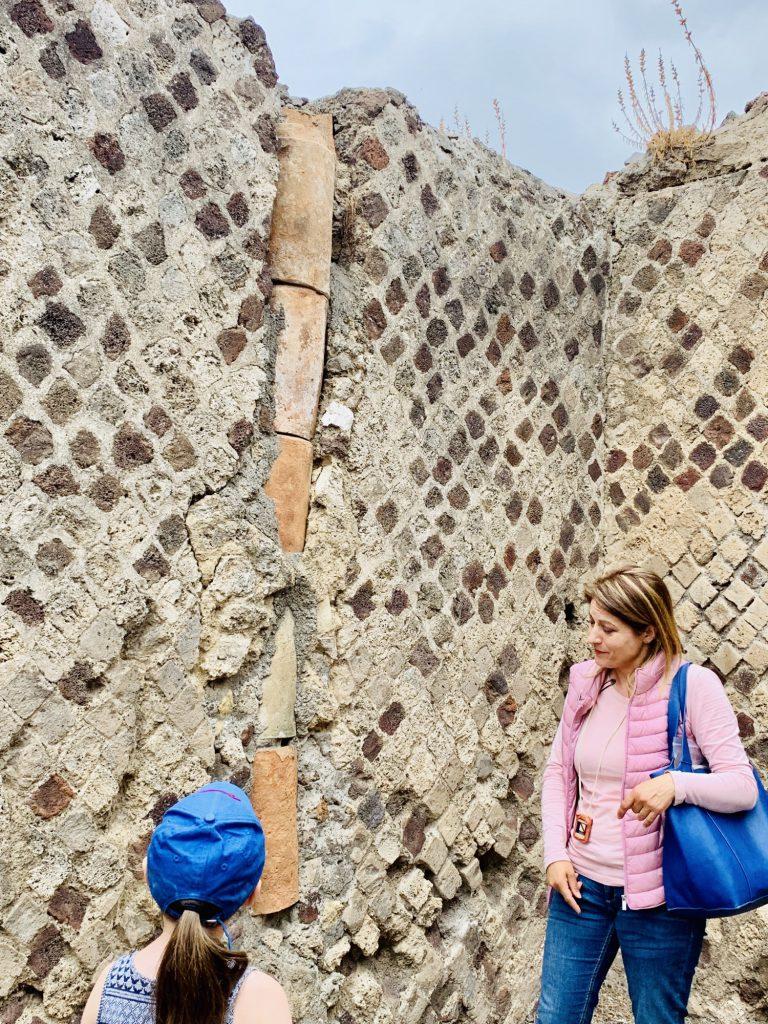 Sewage system at pompeii