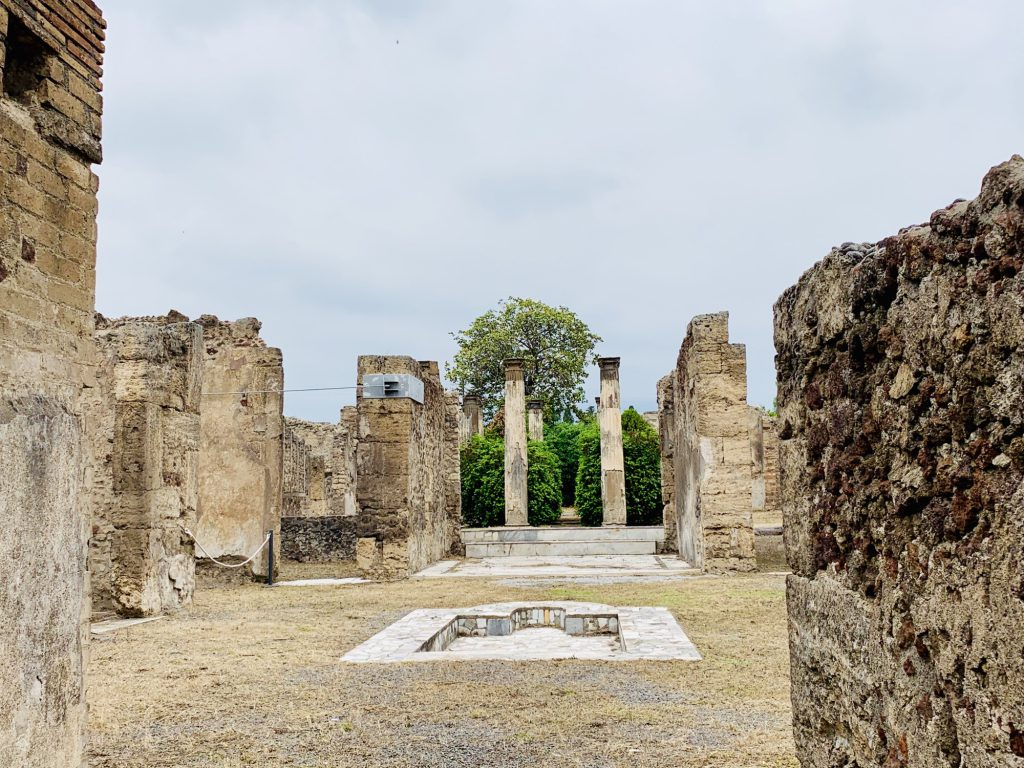 Rich House at Pompeii
