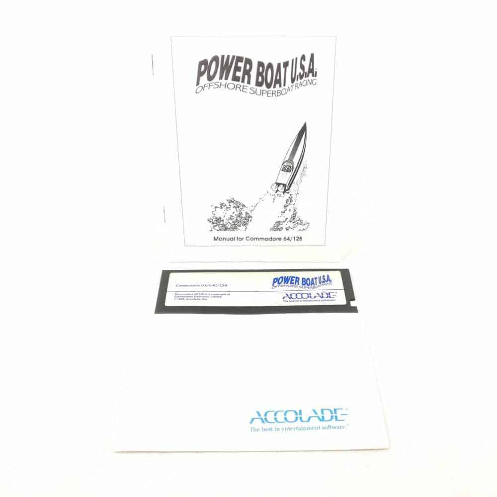 Powerboat U.S.A.: Offshore Superboat Racing (Commodore 64