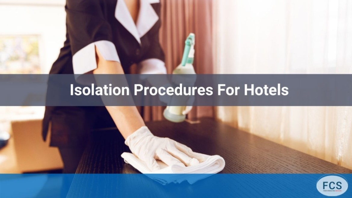 isolation procedures for hotels