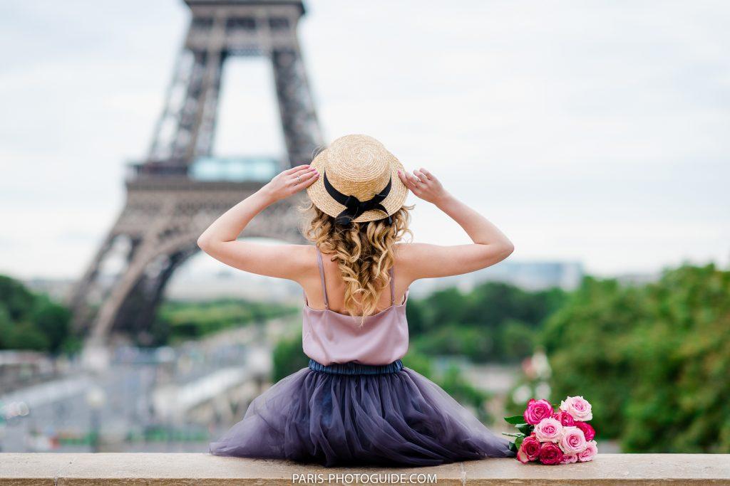 Paris photographer. Preparation for the photo session in Paris