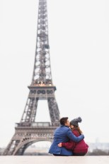 photo session at Trocadero with paris photographer