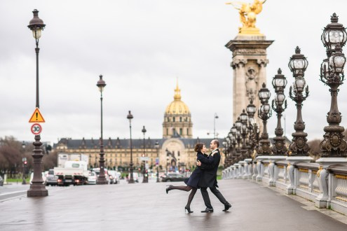 Alexandre 3 bridge Paris photo session