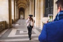 Фотосессия в лувре с русским фотографом