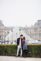 Фотосессия у замка в Париже. Лувр