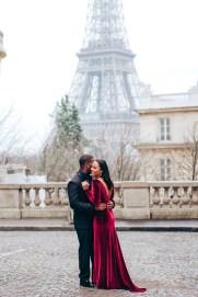 Фотограф в Париже. Эйфелева башня, пара фотосет