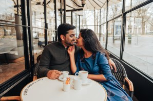 париж фотограф, кафе lovestory