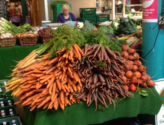 carottes marché Bio Berlin