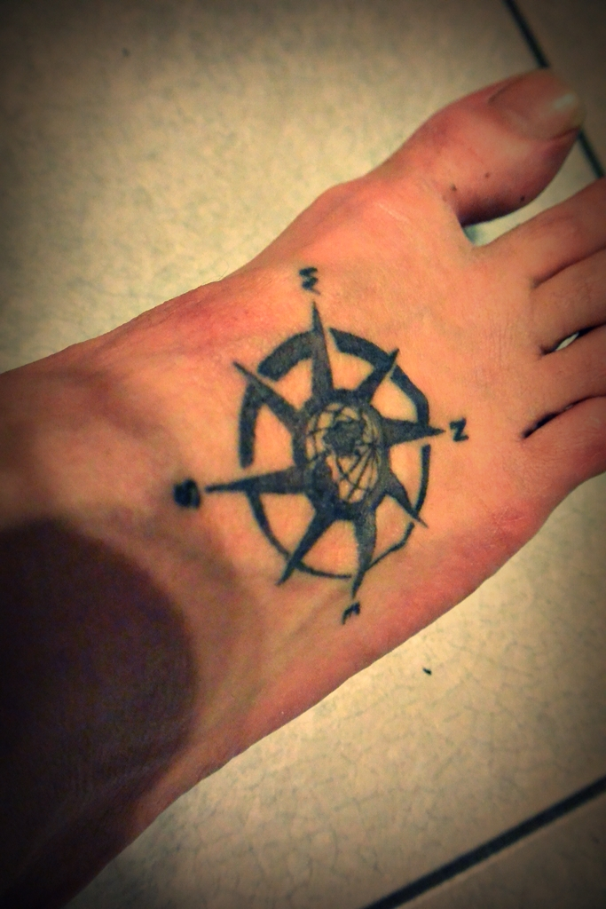 tatoo compass