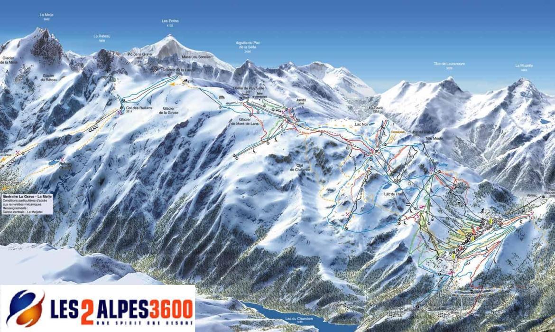 les deux alpes winter