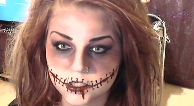 萬聖節這樣出門就對了!神奇的恐怖角色仿妝術 | Emma Pickles,地獄新娘,老虎,吸血鬼,殭屍芭比 | 美人計 ...