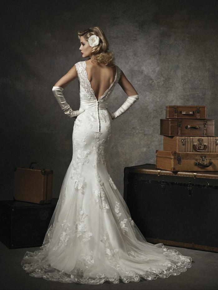 當人魚遇上婚紗 打造完美S曲線的魚尾裙禮服 | 魚尾裙、人魚、婚紗、婚禮、禮服 | 美人計 | 妞新聞 niusnews