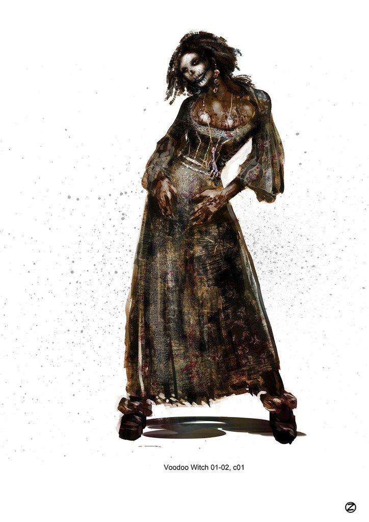 中世紀妖女造型秀 《女巫獵人》概念原畫 | 電影,概念畫,概念圖,概念,原畫 | 妞書房 | 妞新聞 niusnews