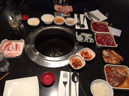 Korean Grill House Opening Times in Thornhill, ON