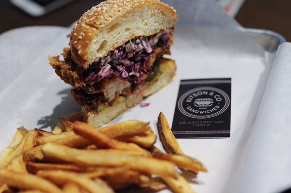 Kitson & Co Sandwiches Opening Times in Toronto, ON