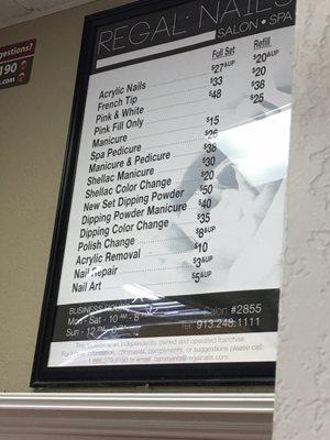 Nail Salon In Walmart : salon, walmart, Regal, Nails,, Salon, 16100, Shawnee,, Manicurists, MapQuest