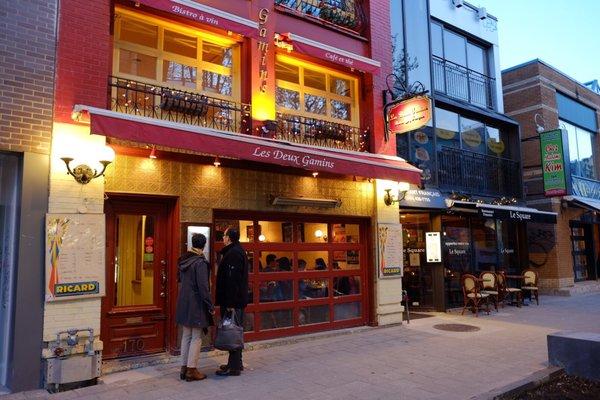 Les Deux Gamins Opening Times in Montréal, QC