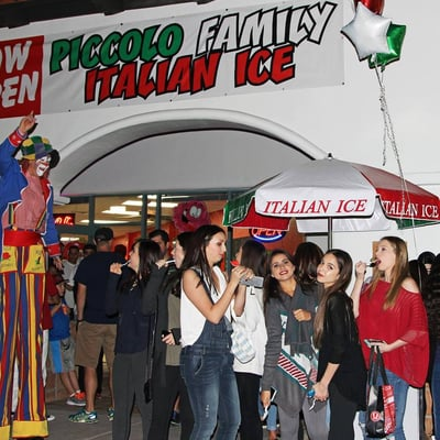 Piccolo Pizza N Ice Opening Times in Scottsdale, AZ