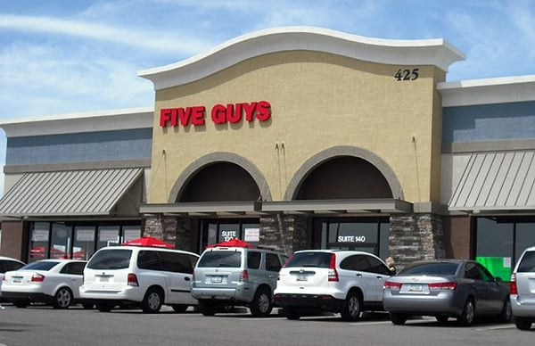 Five Guys Opening Times in Phoenix, AZ