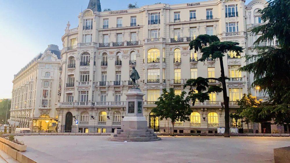 Location Of Double Tree Hilton Madrid Yelp