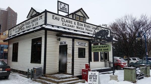 1886 Buffalo Cafe Opening Times in Calgary, AB