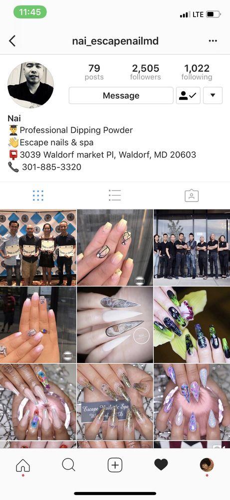 Escape Nails Waldorf : escape, nails, waldorf, Escape, Photos, Reviews, Salons, Waldorf, Market, Waldorf,, Phone, Number