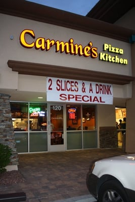 Carmine's Pizza Kitchen Opening Times in Las Vegas, NV