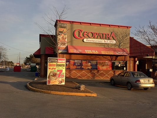 Cleopatra Restaurant & Cafe Opening Times in Mississauga, ON