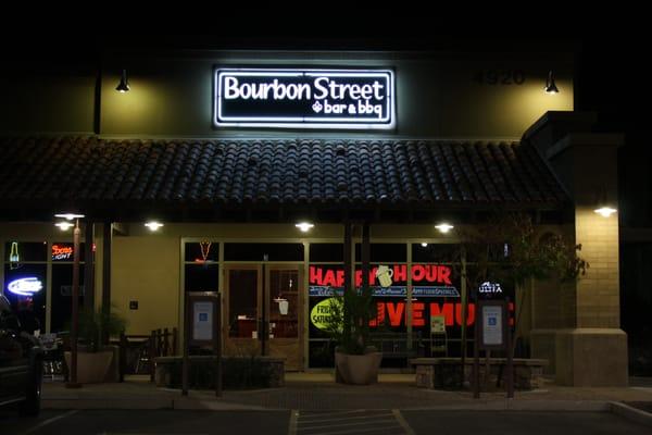 Bourbon Street Bar & BBQ Opening Times in Chandler, AZ
